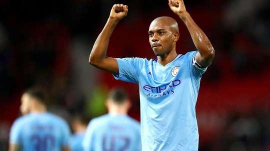 Manchester City na Champions League: pressão de título é maior que nunca, diz Fernandinho. AFP