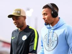 Jesus credits City team-mate Fernandinho for return to form. GOAL