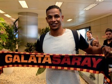 Fernando à son arrivée à Istanbul. AFP