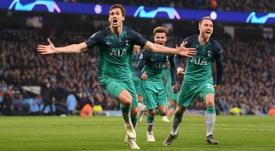 Tottenham a éliminé City. Goal