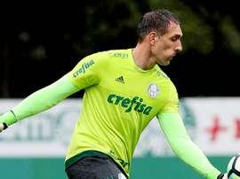 Prass, de 39 anos, prolongou a sua ligação ao Palmeiras. Goal