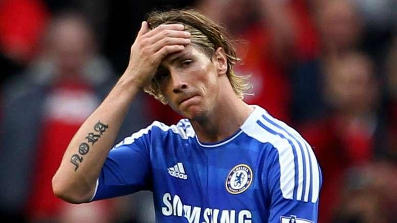 Fernando Torres Chelsea 2011-12. Goal