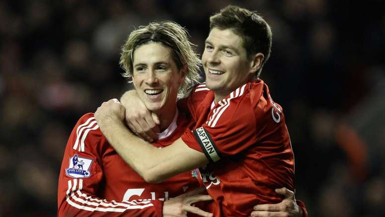 Torres hailed Gerrard as his greatest ever teammate. GOAL