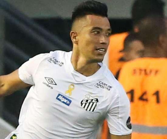 Pelo Santos, Uribe tem o pior início de carreira em um clube. Goal