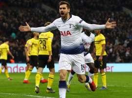 Llorente 'very satisfied' at Tottenham.