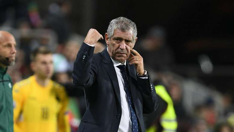 Fernando Santos denies Portugal are favourites to win Euro 2020. GOAL