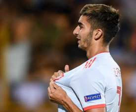 Ferran Torres has lead his team to Spain's second youth tournament win this summer. GOAL