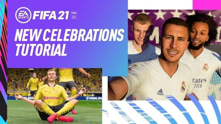 FIFA 21 terá novidades nas comemorações.