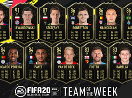 TOTW has been announced. GOAL