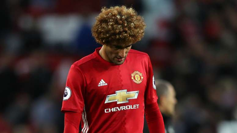 Fellaini has come in for criticism at United. Goal
