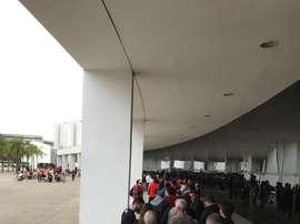 Copa América: estádios vazios, filas cheias. Goal