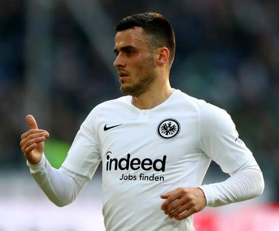 Kostic has signed a four year contract at Eintracht Frankfurt. GOAL