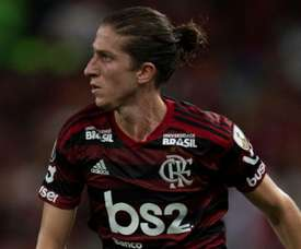 Filipe Luís e Gerson, coadjuvantes de luxo na vitória do Flamengo sobre o Inter.