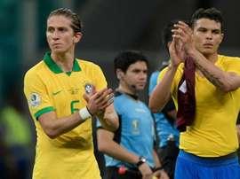 Filipe Luis Thiago Silva Brasil Venezuela Copa América 19 06 2019
