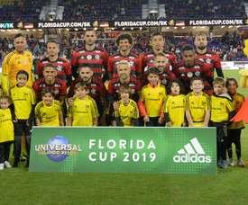 Onde vai passar o jogo do Flamengo contra o Frankfurt, pela Florida Cup?