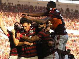Flamengo are through to the round of 16. GOAL