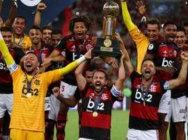 Flamengo claim first Recopa Sudamericana title