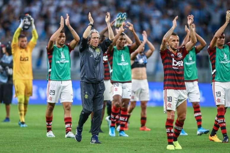 Os números de Jorge Jesus no Flamengo