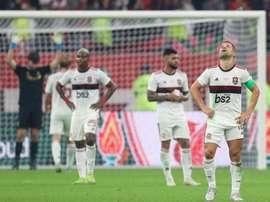 Flamengo anunciou o fim antecipado do principal patrocínio. AFP