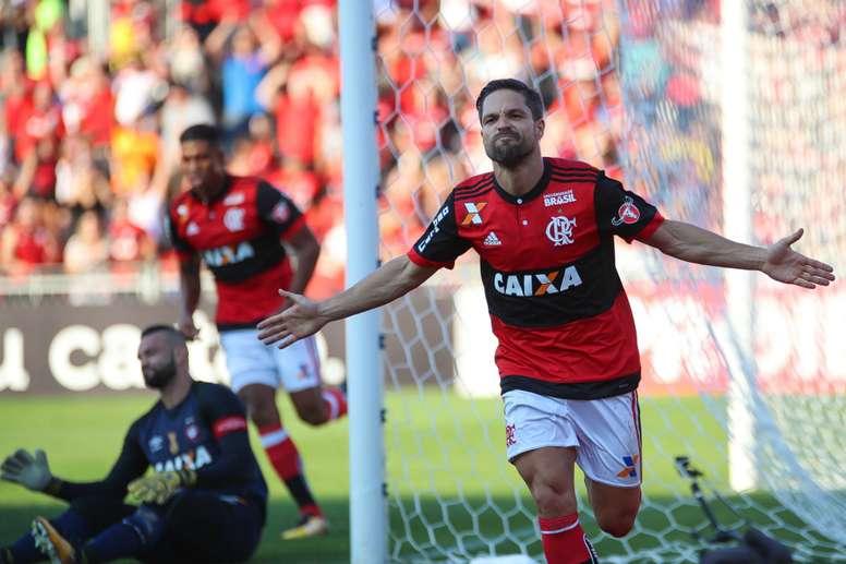 Diego comemora crescimento do Flamengo