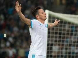Florian Thauvin s'est adjugé le prix de joueur du mois dernier. Goal
