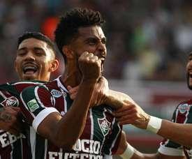 Fluminense x Figueirense. Goal