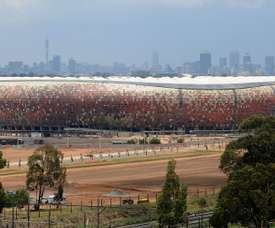 Two people were killed as a result of a fan crush at the FNB Stadium in Soweto. GOAL