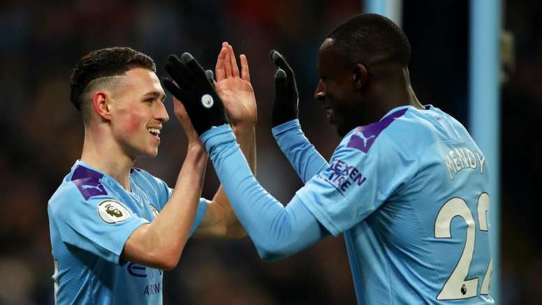 Foden and Mendy seemed comfortable in their new roles in Guardiola's new system. GOAL
