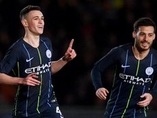 Phil Foden is developing into a top player at Manchester City. GOAL