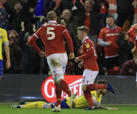 Forest claimed a surprise victory over high-flying Leeds. GOAL