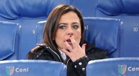 Former Roma president Rosella Sensi. Goal