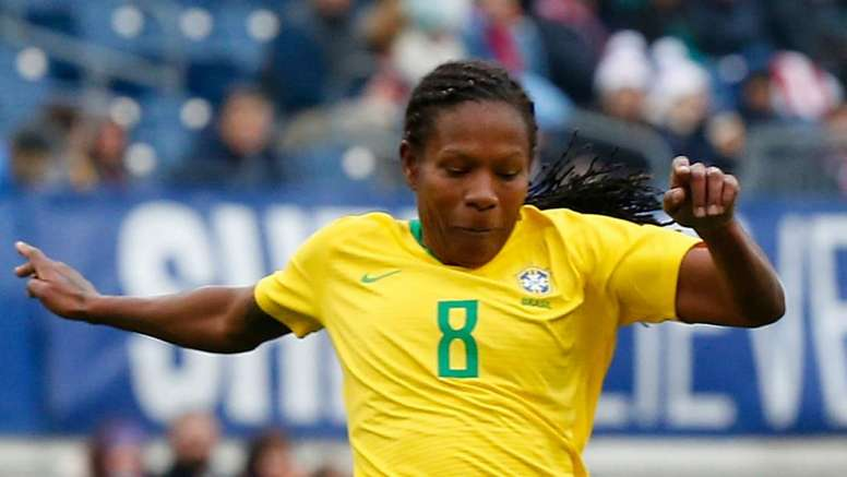 Formiga is playing in her 7th World Cup for Brazil. GOAL
