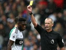 Fosu-Mensah apologised for his poor challenge on Deeney. GOAL