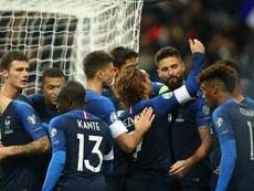 Giroud lauds Deschamps' team talk