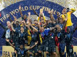 France were helped to the World Cup win by Mbappe. GOAL