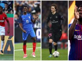 Ousmane Dembele is one member of France's so-called 'golden generation'. GOAL