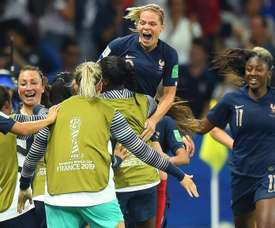 France claimed a 2-1 win over Norway to go within touching distance of a knockout spot. GOAL