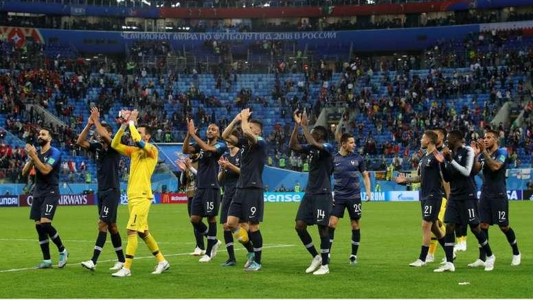 França ganha folga após classificação.Goal