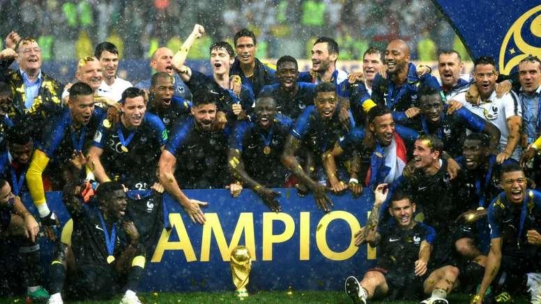 Grande parte dos novos campeões do mundo possuem descendência estrangeira. Goal