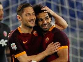 Totti believes Klopp is the key to Salah's goalscoring success. GOAL