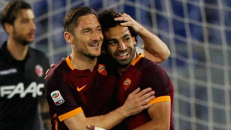 Totti believes Klopp is the key to Salah's goalscoring success. GOAL