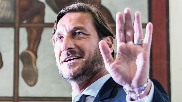 Francesco Totti was devastated to have left Roma. GOAL