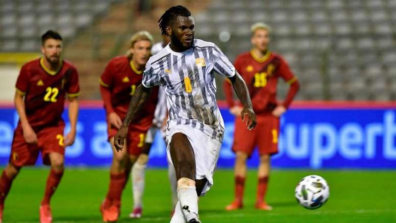 Franck Kessie gave Ivory Coast a draw in Belgium. GOAL
