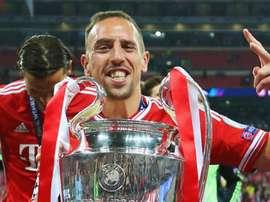 Ribery ricorda il triplete vinto. Goal