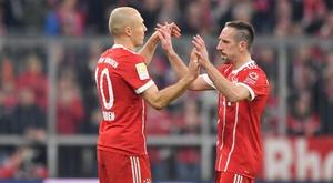 Robben rend hommage à Ribéry. Goal