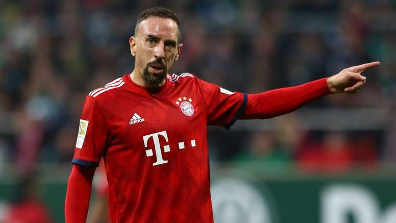 Ribery has not featured much under Kovac. GOAL
