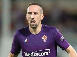 Fiorentina star Ribery named Serie A MVP for September