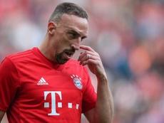 Ribéry attendu pour passer sa visite médicale à la Fiorentina. AFP