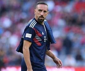 Ribery a réalisé un très mauvais geste. Goal