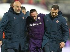 Fiorentina, per Ribéry recupero veloce: può tornare già il 15 dicembre contro l'Inter